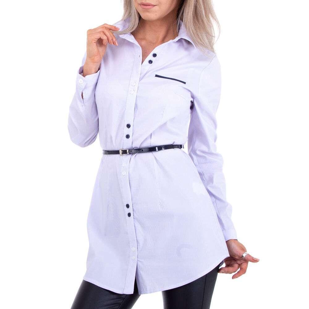 Bluză cămașă pentru femei marca Metrofive - lila