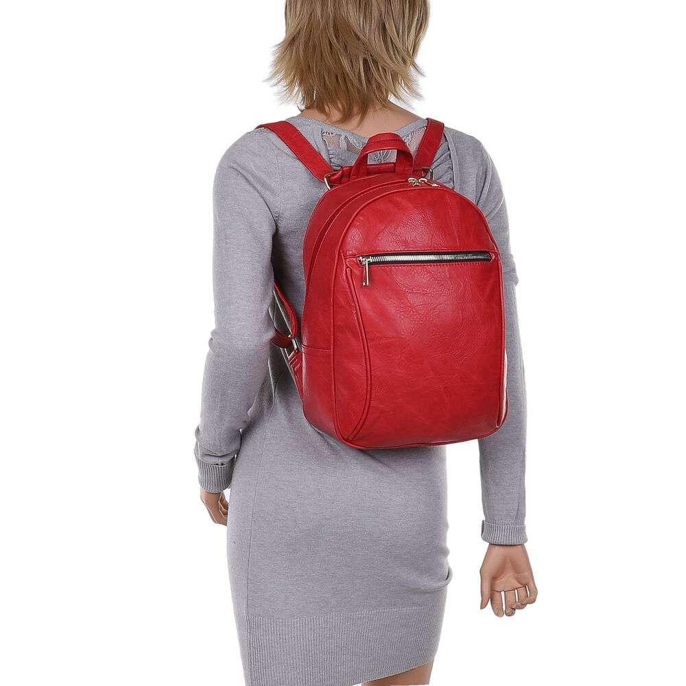 Rucsac pentru femei - roșii - image 4