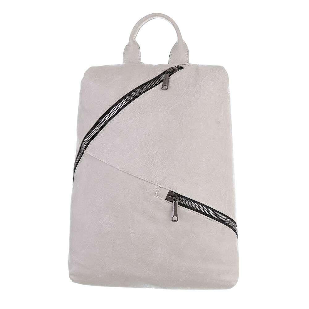 Женский рюкзак - бежевый