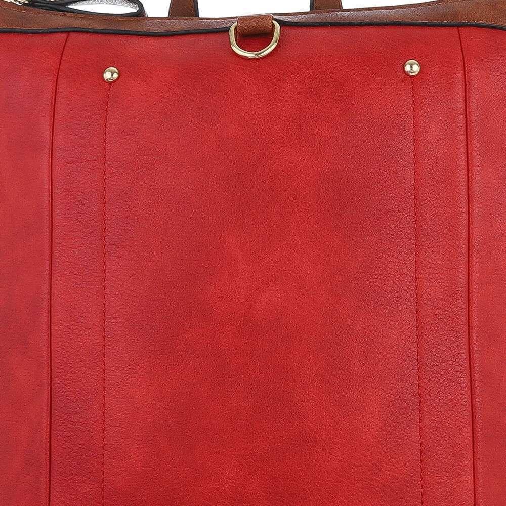Rucsac pentru femei - roșii - image 6