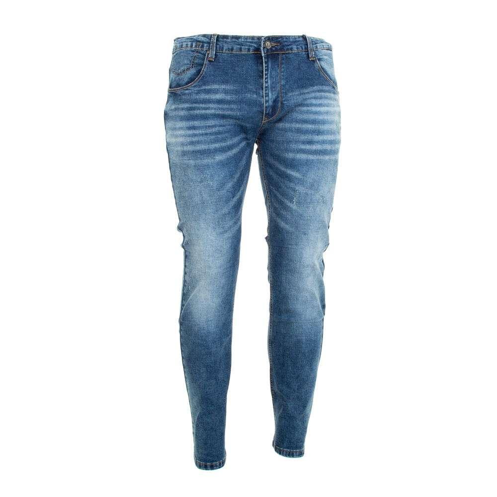 Blugi bărbat  marca GRESS DENIM - albastră