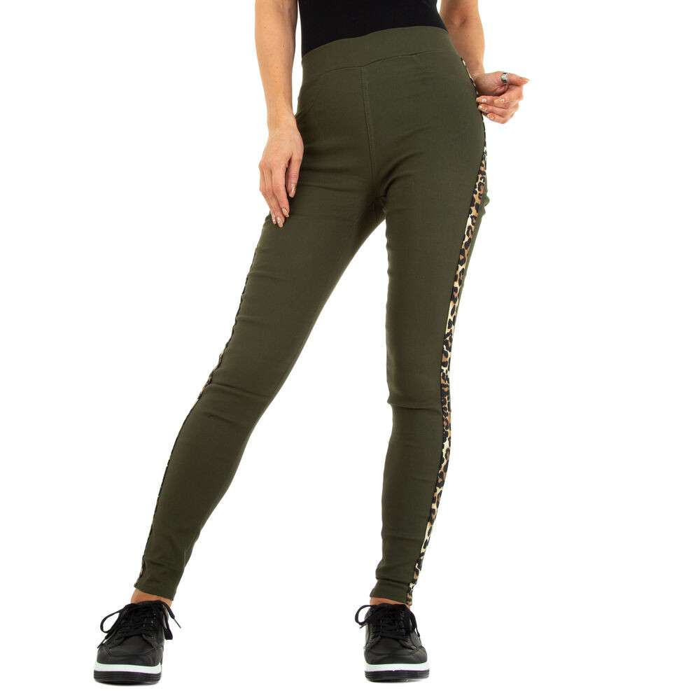 Lasini jeans pentru dame marca Fashion Design - khaki