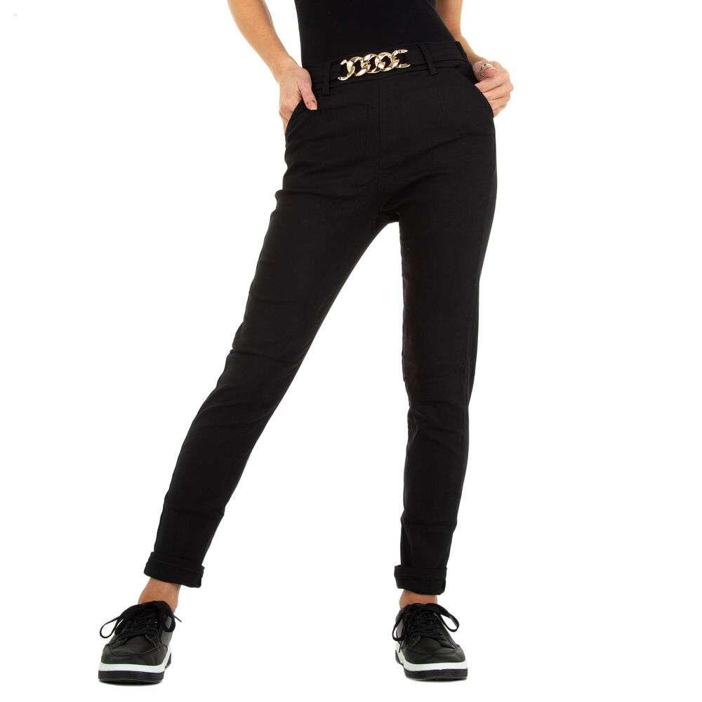 Pantaloni skinny pentru femei marca Holala - negru