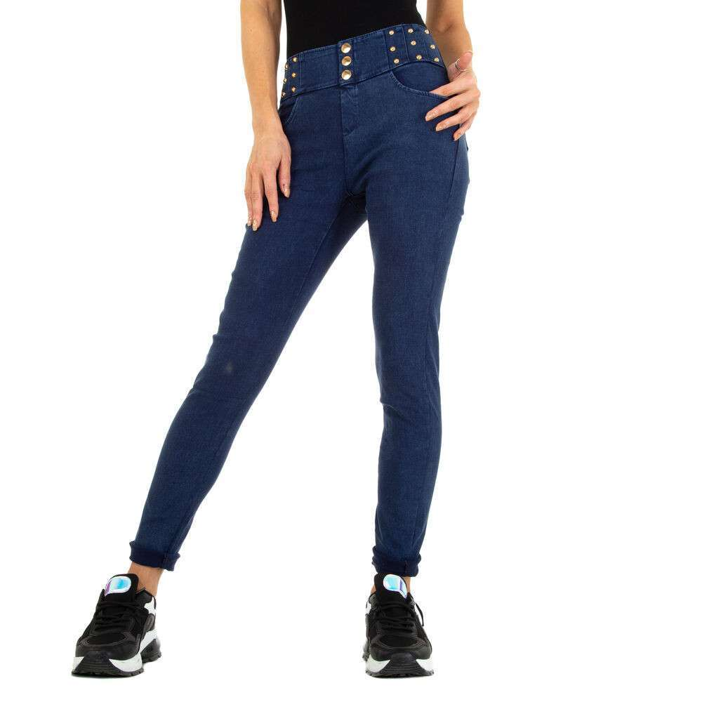 Lasini jeans pentru dame marca Holala - albastru