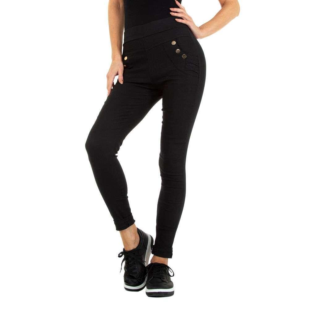 Lasini jeans pentru dame marca Holala - negru