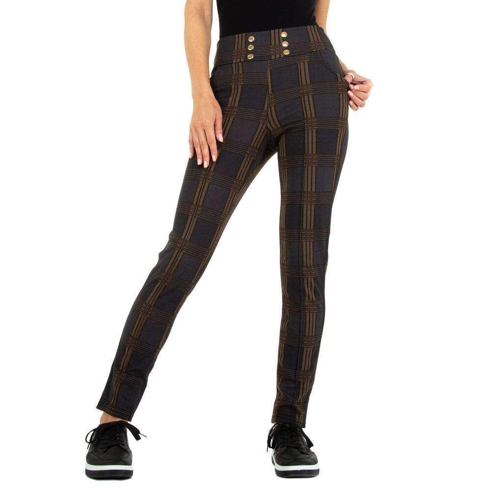 Pantaloni din stofă pentru femei marca Top Look - taupe