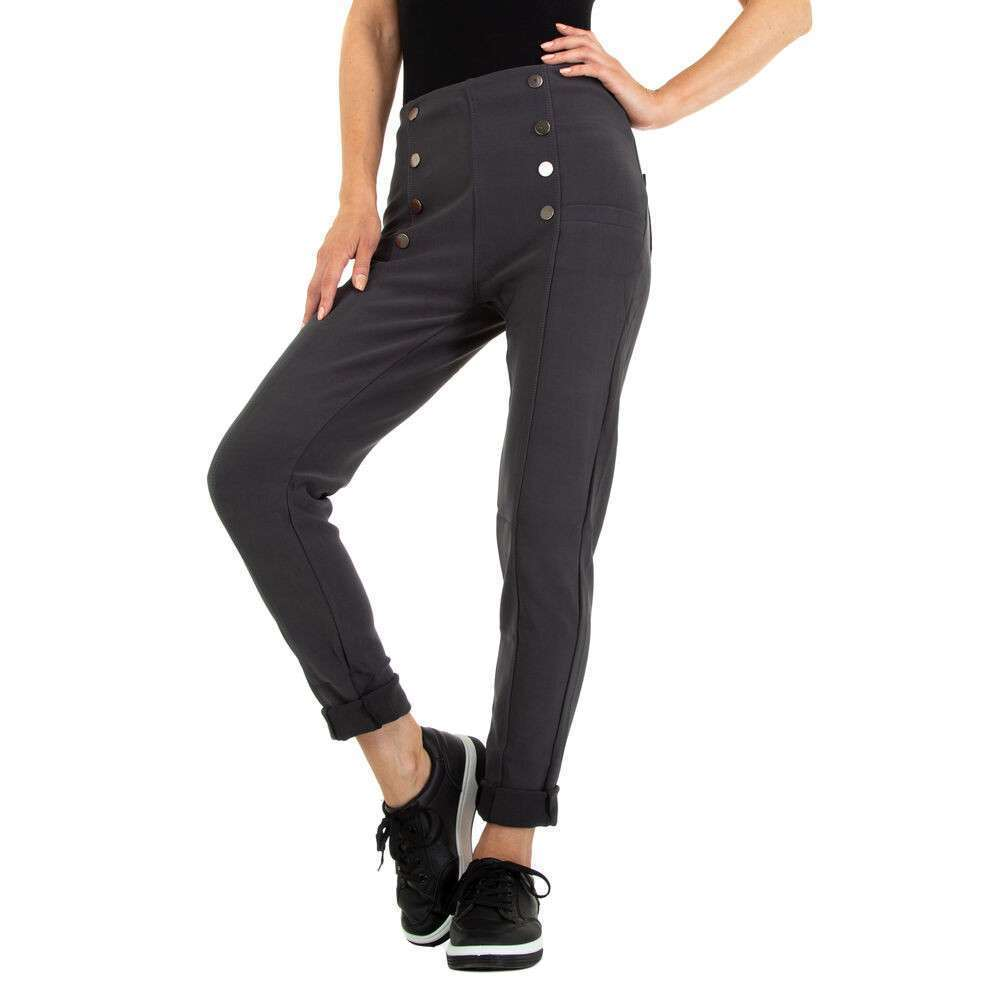 Pantaloni skinny pentru femei marca Fashion Design - gri