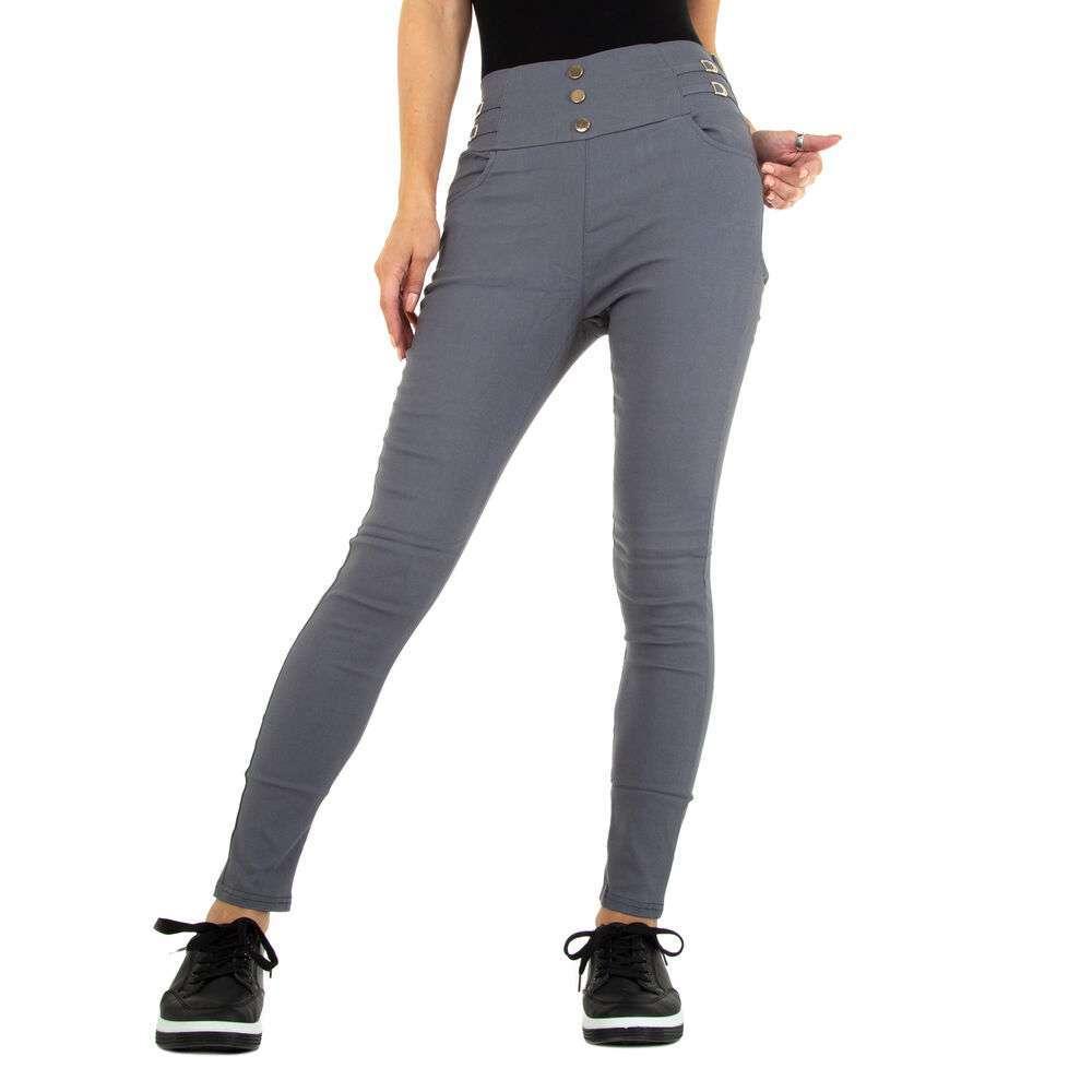 Pantaloni skinny pentru femei marca Holala - gri