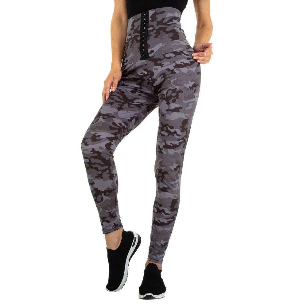 Jambiere clasice pentru femei marca Holala - gri armată
