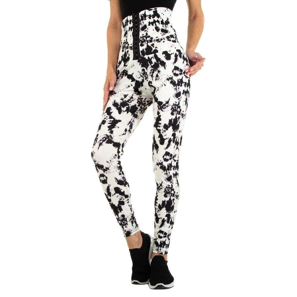 Jambiere clasice pentru femei marca Holala - alb