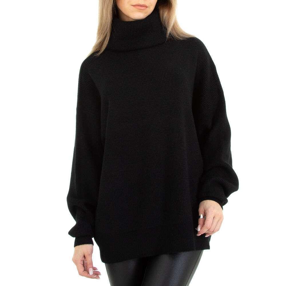 Pulover tricotat pentru femei marca Glo Story Gr. O mărime - negru