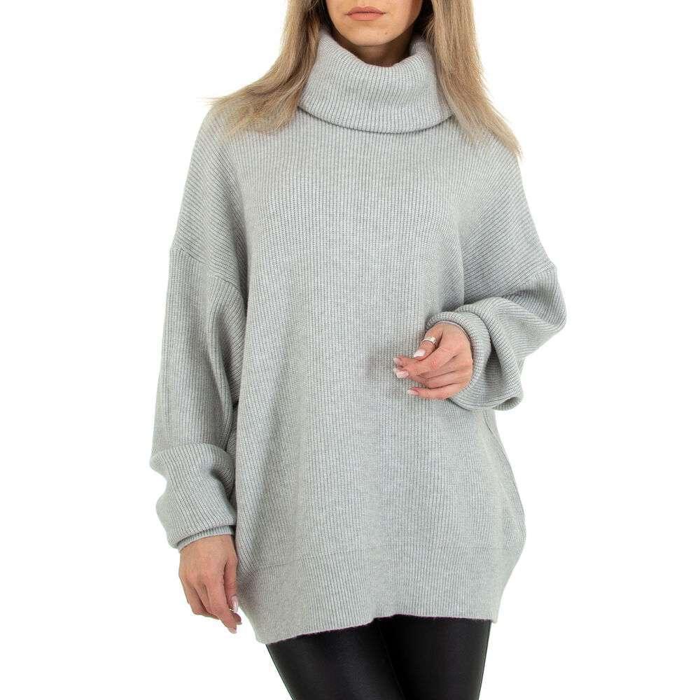 Pulover tricotat pentru femei marca Glo Story Gr. O mărime - gri