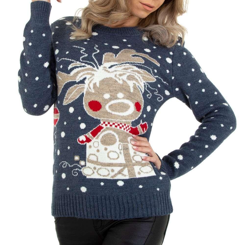 Pulover tricotat pentru damă marca Metrofive - gri