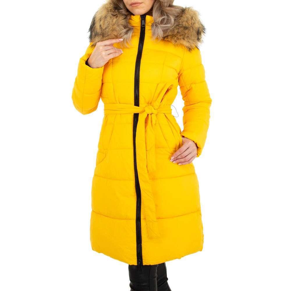 Scurtă de iarnă pentru dame marca Metrofive - galben