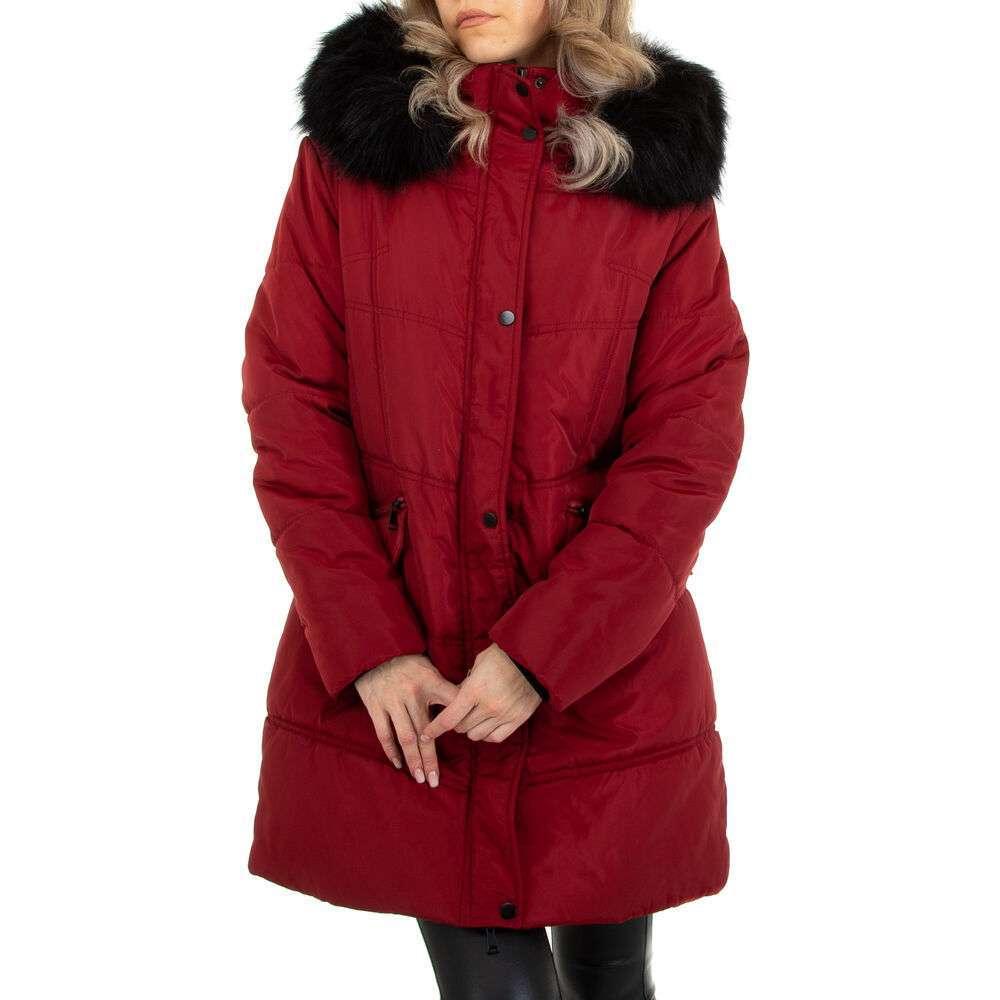 Scurtă de iarnă pentru dame marca Metrofive - vișiniu
