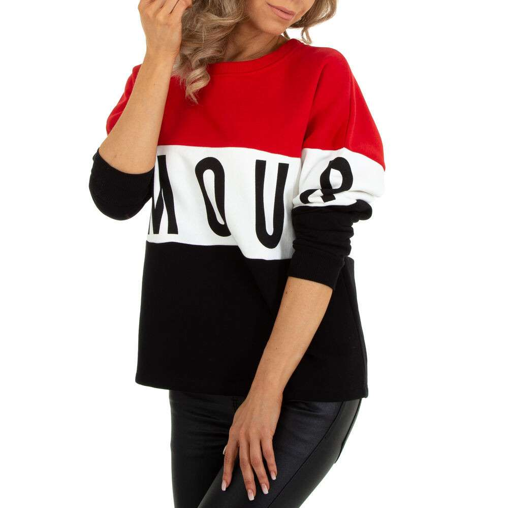 Hanorac damă marca METROFIVE - rosu - image 4