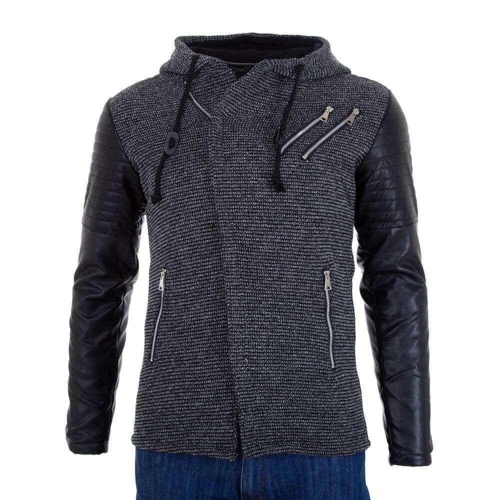 Jachetă pentru bărbați  marca PLAY BACK - negru