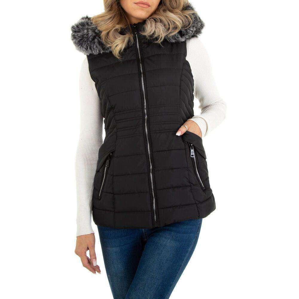 Damen Winterweste marca EGRET - negru