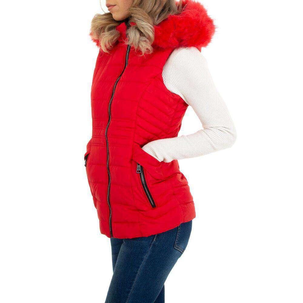 Damen Winterweste marca EGRET - rosii - image 2