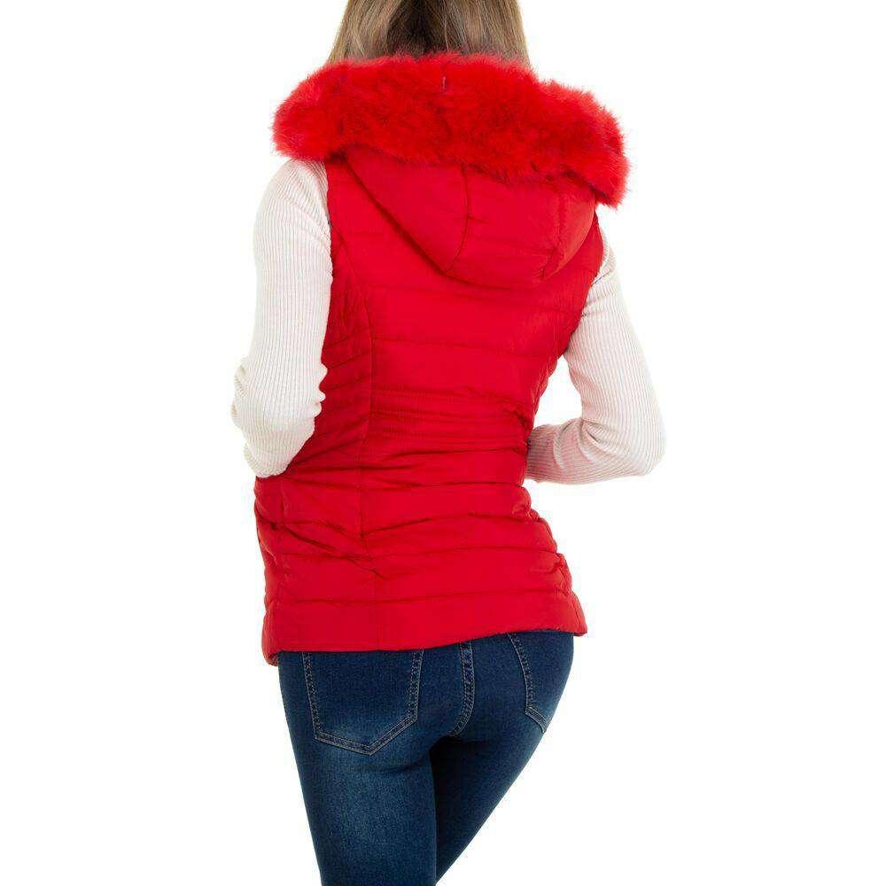 Damen Winterweste marca EGRET - rosii - image 3