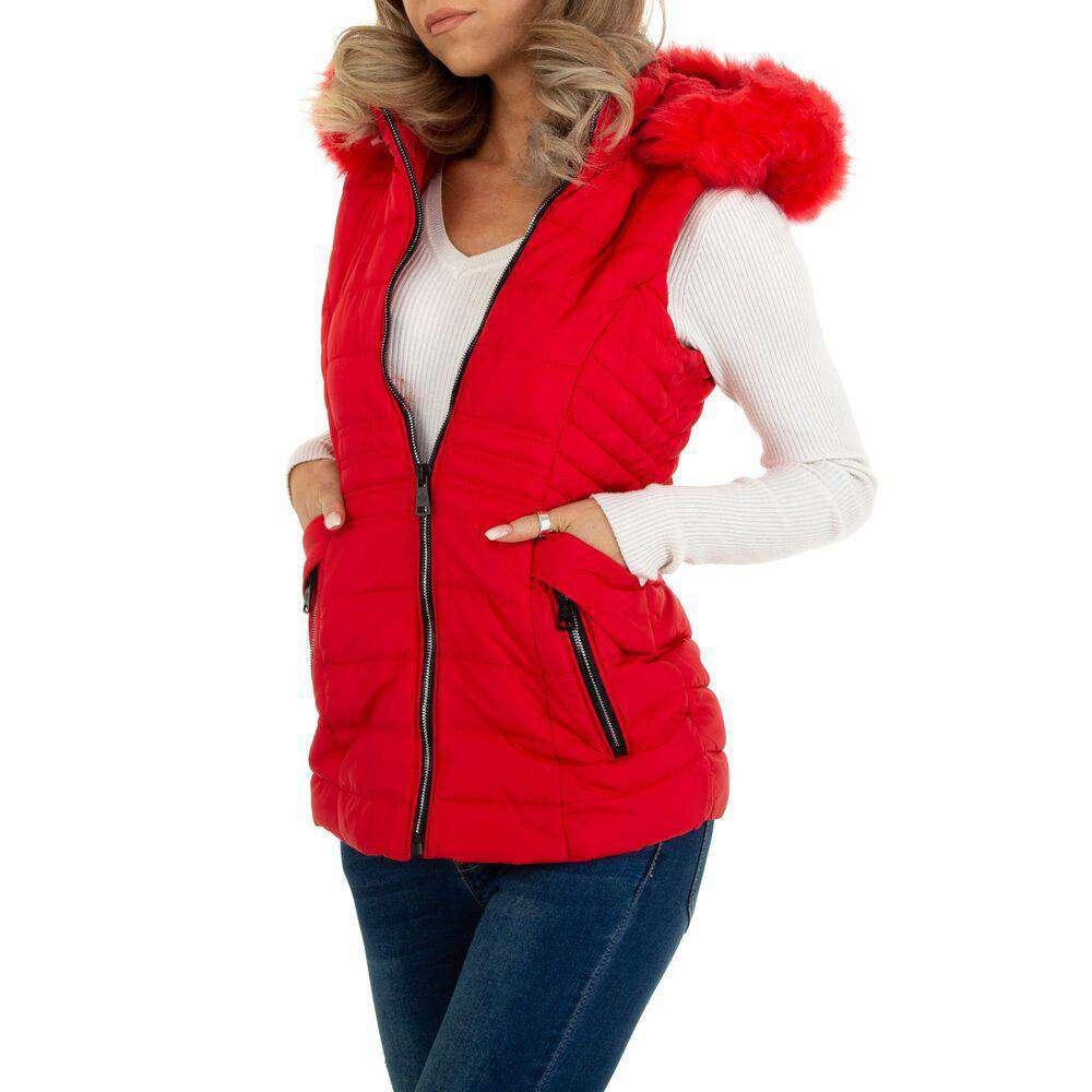 Damen Winterweste marca EGRET - rosii - image 4