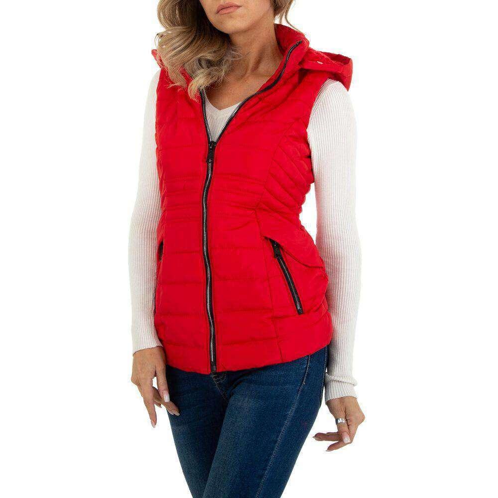 Damen Winterweste marca EGRET - rosii - image 5