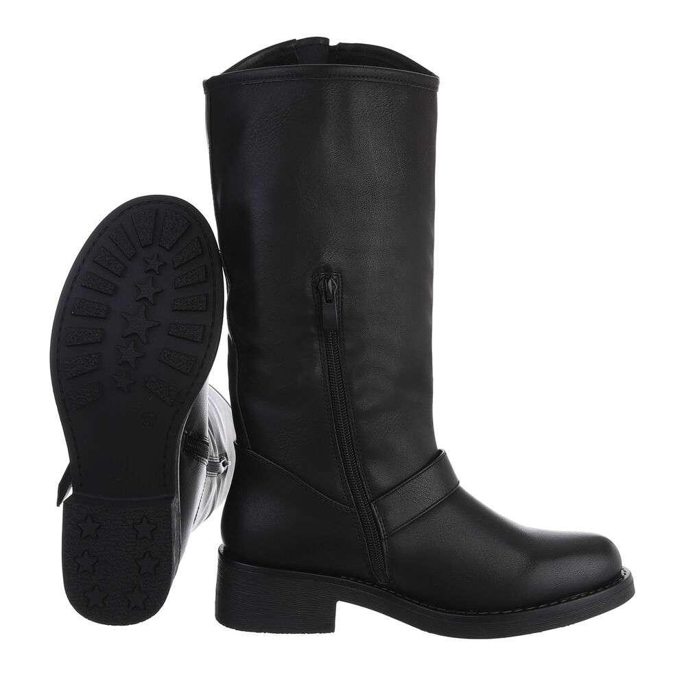 Cizme clasice pentru dame - negru - image 2
