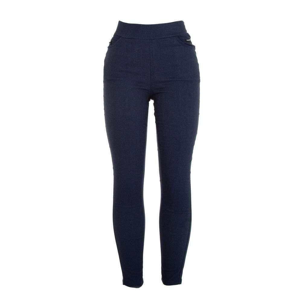 Pantaloni skinny pentru femei marca Holala - albastru