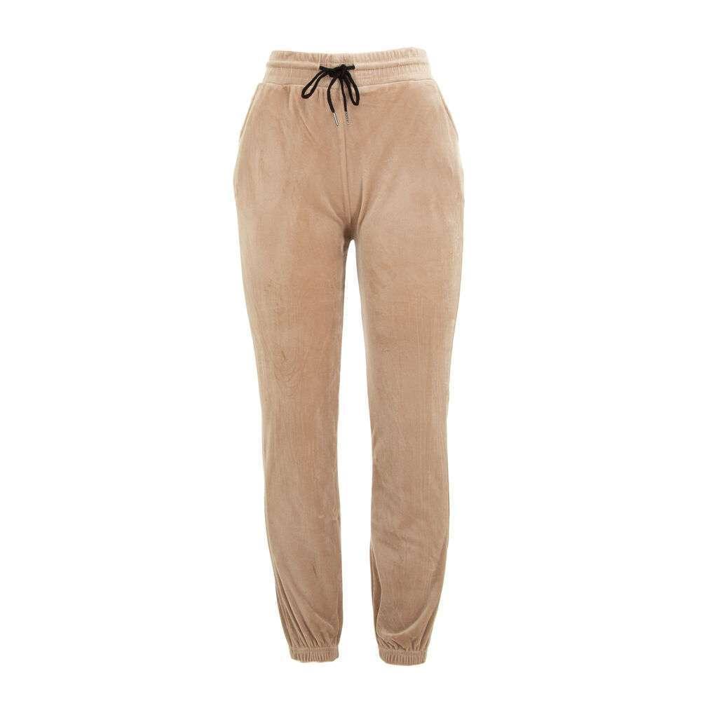 Pantaloni de trening pentru femei marca Holala - bej