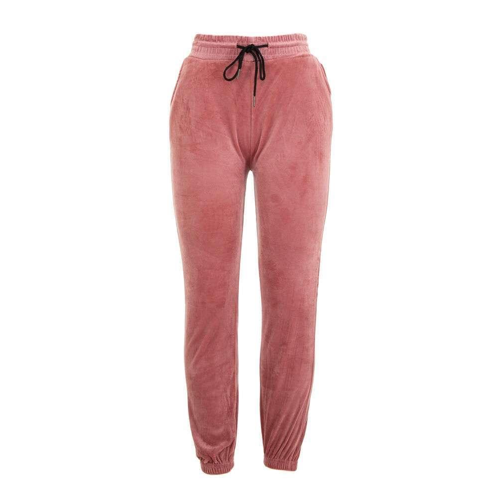 Pantaloni de trening pentru femei marca Holala - Trandafir