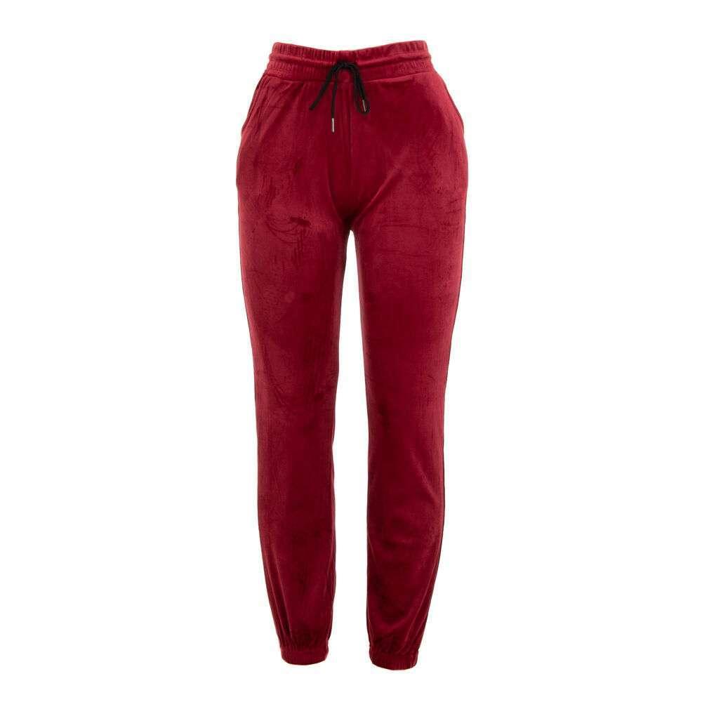 Pantaloni de trening pentru femei marca Holala - visiniu