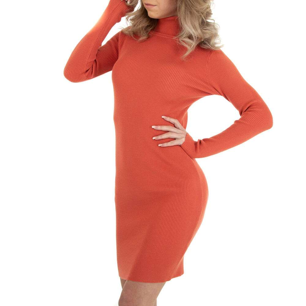 Rochie stretch pentru femei marca EMMASH - orange