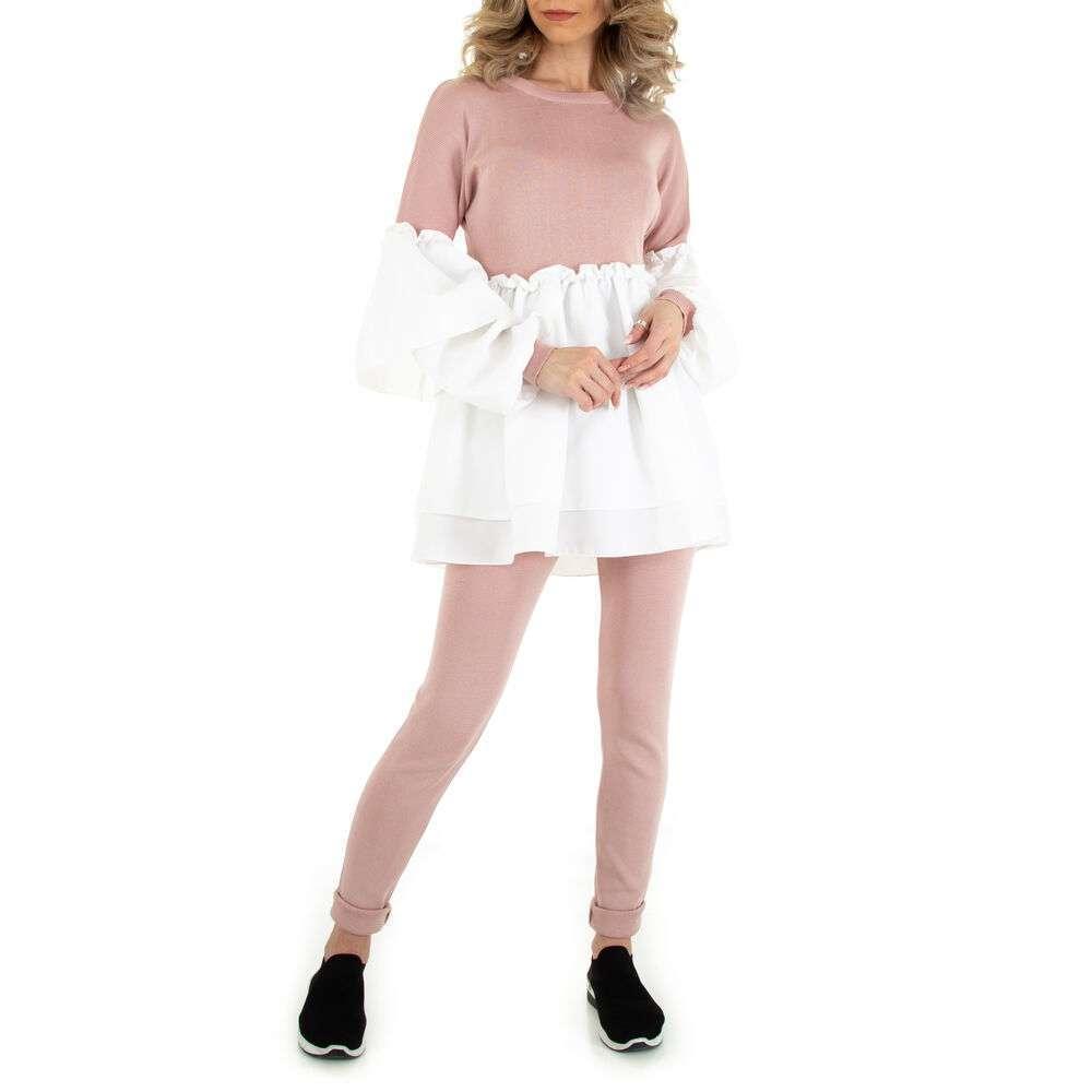 Costum din două piese marca Emma Ashley - Trandafir