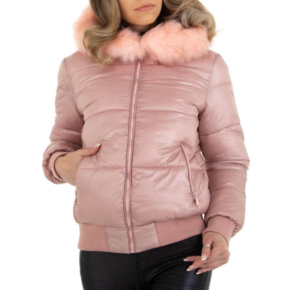 Geacă de iarnă pentru femei marca Naemi Kent - Trandafir