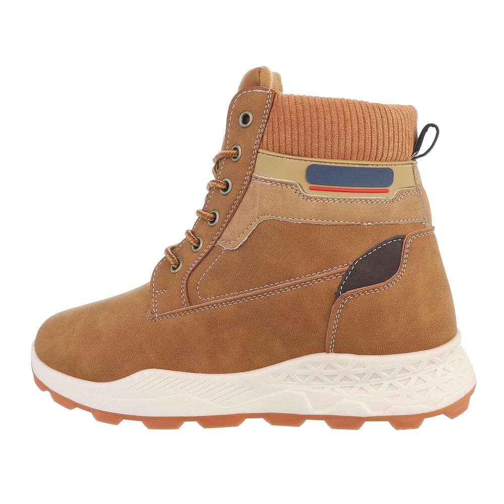 Pantofi casual pentru bărbați - camel