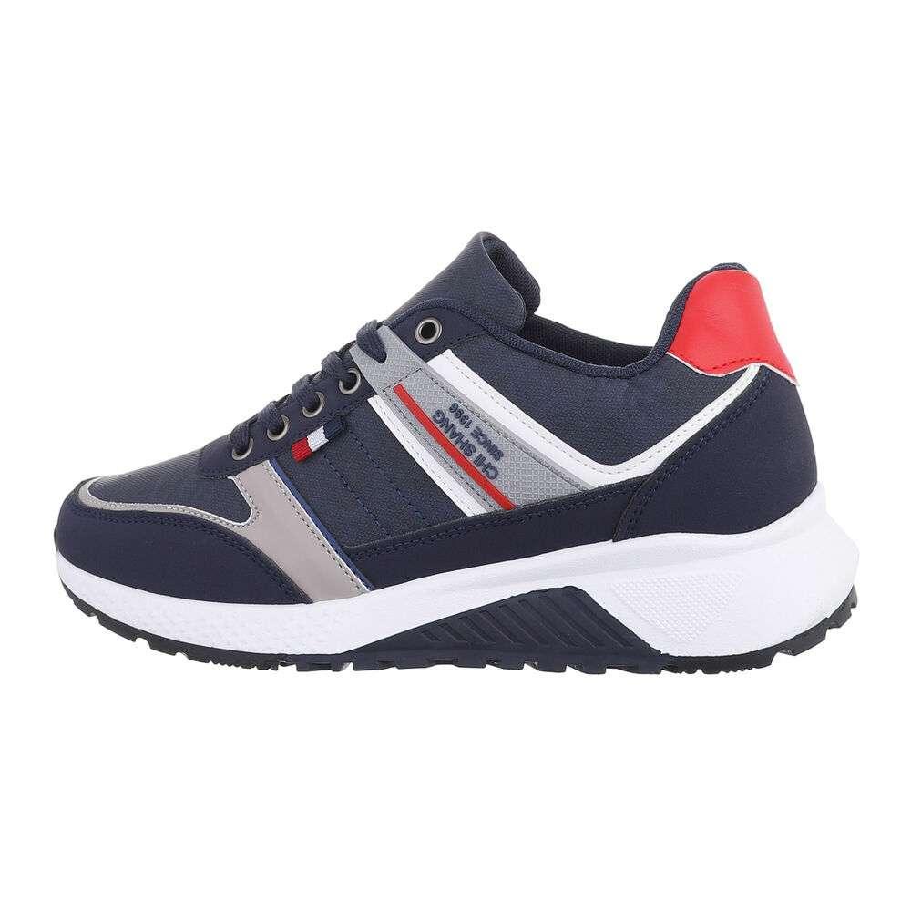 Pantofi casual pentru bărbați - navy